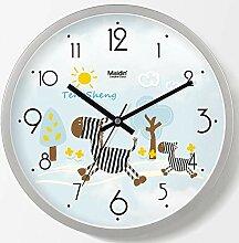 DIBC Wanduhr Nordic kreative Wohnzimmer Uhr