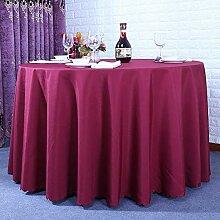 Dick Einfarbig Tischdecke Waschbar,