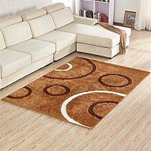 Dick Ultra-kompakte im europäischen Stil Modern Minimalist Wohnzimmer Couchtisch Teppich, Schlafzimmer voller Teppiche, Bettdecke / Matratze / Matte Teppich ( farbe : # 4 , größe : 1.4*2m )