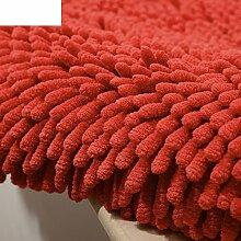 Dicke Chenille Matte/Hautfreundliche Matte schwebende Fenster/Tür Eingang Fußmatten/Badvorleger-H 50x80cm(20x31inch)