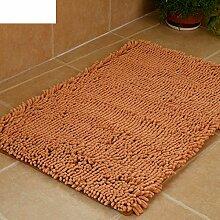 Dicke Chenille Matte/Hautfreundliche Matte schwebende Fenster/Tür Eingang Fußmatten/Badvorleger-A 60x150cm(24x59inch)