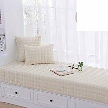 Dicke floating window mat plüsch fenster mat rutschfeste balkon tatami matte sofakissen-A 80x180cm(31x71inch)