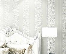 Dicke Mauer Papier selbstklebend Vlies Wand renovierung Aufkleber mit voller 3D Vision wall Poster wasserdicht Schlafzimmer Tapete, m, Weiß