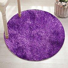 Dicke Runde Teppich Schlafzimmer Make-Up Hocker