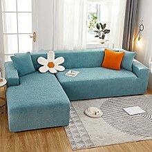 Dicke Stretch sofabezug ecksofa l form für 1 2 3