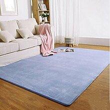 Dicke Teppiche, Modern Minimalist, Schlafzimmer Wohnzimmer Couchtisch Sofa Vollbett Rand des Fensters Rectangular Teppich ( farbe : C , größe : 1.2 X 1.6 M )