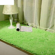 Dicken Chenille Schlafzimmer Teppich/ Erker durch den Bett-Teppich/Couchtisch Wohnzimmer Tatami-C 70x150cm(28x59inch)