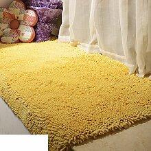Dicken Chenille Schlafzimmer Teppich/ Erker durch den Bett-Teppich/Couchtisch Wohnzimmer Tatami-K 60x210cm(24x83inch)