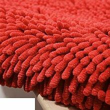 Dicken Chenille Schlafzimmer Teppich/ Erker durch den Bett-Teppich/Couchtisch Wohnzimmer Tatami-H 60x180cm(24x71inch)