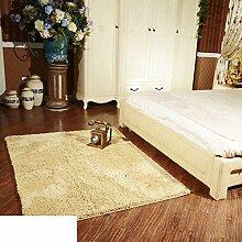 Dicken Chenille Schlafzimmer Teppich/ Erker durch den Bett-Teppich/Couchtisch Wohnzimmer Tatami-D 80x180cm(31x71inch)