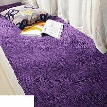 Dicken Chenille Schlafzimmer Teppich/ Erker durch den Bett-Teppich/Couchtisch Wohnzimmer Tatami-G 70x210cm(28x83inch)