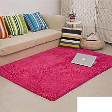 dicken Chenille Teppich/Wohnzimmer Couchtisch Schlafzimmer Bettvorleger/Rechteckigen Familienzimmer mit Teppich-J 60x200cm(24x79inch)