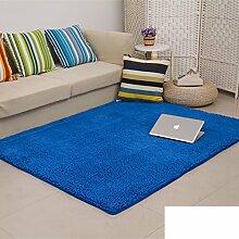 dicken Chenille Teppich/Wohnzimmer Couchtisch Schlafzimmer Bettvorleger/Rechteckigen Familienzimmer mit Teppich-K 160x200cm(63x79inch)