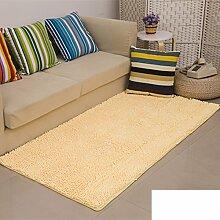 dicken Chenille Teppich/Wohnzimmer Couchtisch Schlafzimmer Bettvorleger/Rechteckigen Familienzimmer mit Teppich-G 160x230cm(63x91inch)