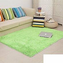 dicken Chenille Teppich/Wohnzimmer Couchtisch Schlafzimmer Bettvorleger/Rechteckigen Familienzimmer mit Teppich-F 100x200cm(39x79inch)