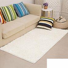 dicken Chenille Teppich/Wohnzimmer Couchtisch Schlafzimmer Bettvorleger/Rechteckigen Familienzimmer mit Teppich-L 100x160cm(39x63inch)