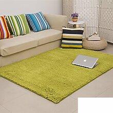 dicken Chenille Teppich/Wohnzimmer Couchtisch Schlafzimmer Bettvorleger/Rechteckigen Familienzimmer mit Teppich-S 100x100cm(39x39inch)