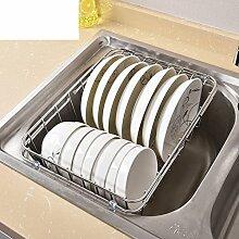 Dicken edelstahlgestell Waschbecken abfluss korb