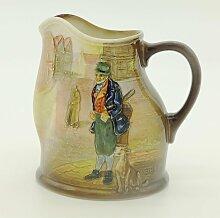 Dickens Krug aus Porzellan von Royal Doulton,