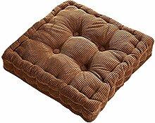 Dicker Mais Samt Kissen Büro Sessel Kissen Sofa Matte 12 Farben 3 Größen (40x40cm, Kamel)