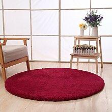 Dicker Polyester-runder Teppich-einfache Einfache