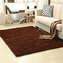 Dicker rutschfester Teppich, Wohnzimmer, Couchtisch, Schlafzimmer, Bett, Yogamatten , #2 , 50*80cm