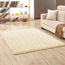 Dicker rutschfester Teppich, Wohnzimmer, Couchtisch, Schlafzimmer, Bett, Yogamatten , #3 , 100*160cm