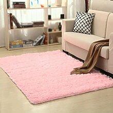 Dicker rutschfester Teppich, Wohnzimmer, Couchtisch, Schlafzimmer, Bett, Yogamatten , #3 , 160*200cm
