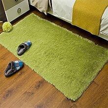 Dicker waschbarer Teppich Footmats Seidige Matte für Wohnzimmer-Schlafzimmer-Kaffee-Tabellen-Wolldecke Saugfähige schnell trocknende Innenboden-/Tür-Matten