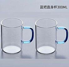 Dickes Pyrexglas, Kaffee, Milch, Cocktailgläser,