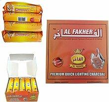 Dics anthrazit AL-Fakher Quick Lighting Shisha