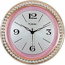 DIDADI Wall Clock 38cm einseitig Wanduhr mittlerer europäischer Schmuck verkaufte Uhr Mute/Gebietes Wohnzimmer Schlafzimmer Uhren