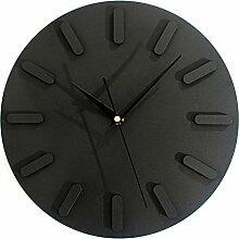 DIDADI Wall Clock Der minimalistische Stil Wanduhren Wanduhr Wanduhr stilvoll kreative Wohnzimmer Schlafzimmer Studie mute 12 Zoll