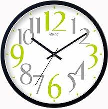 DIDADI Wall Clock Die klassischen digitalen stilvolle und einfache Wanduhr Wanduhr mute Quarzuhr 12 Zoll