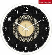 DIDADI Wall Clock Einem modernen, minimalistischen Stil mute Uhr Wohnzimmer Schlafzimmer Wanduhr Uhren 12 Zoll