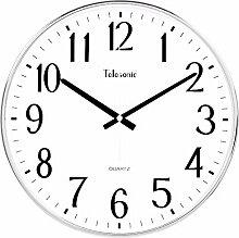 DIDADI Wall Clock Einfach kreativ Wohnzimmer Wanduhr Uhr stumm scan