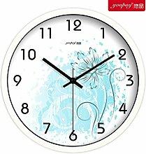 DIDADI Wall Clock mode zu hause dekoration schlafzimmer wohnzimmer stumm quarz - uhr kreative uhr 12 cm