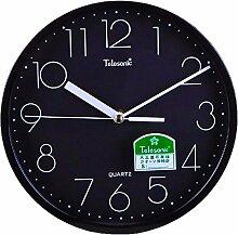 DIDADI Wall Clock Modernen Quarzuhren und kreative Clock Uhr stumm, wenn das Wohnzimmer minimalistische Wanduhr
