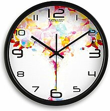 DIDADI Wall Clock Okake Uhren Uhr-Jong-kreative Wohnzimmer Tisch 12 Zoll