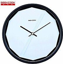DIDADI Wall Clock Perfekter Schnitt metall Uhren Wecker stumm 15 neue kreative Gestaltung moderner, minimalistischer Wanduhr