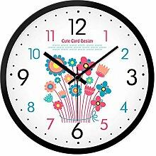 DIDADI Wall Clock Persönlichkeit und stilvolles Wohnzimmer Wanduhr creative Schlafzimmer Garten moderne, minimalistische mute Quarzuhren Uhr - Tabelle 12 Zoll
