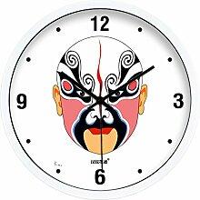 DIDADI Wall Clock Pub. Modernes, minimalistisches kreative Wohnzimmer Schlafzimmer mute Wanduhr Wanduhr Quarz Uhren 12.
