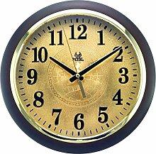 DIDADI Wall Clock Stumm-Scan Quarz Runde Wanduhr 315mm