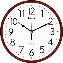 DIDADI Wall Clock Stumm Uhren zeitgenössische Uhr Schlafzimmer Wohnzimmer Büro Wanduhr