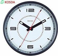DIDADI Wall Clock Stumme Metallwand Uhr Uhren und mechanische design Wohnzimmer moderne Dekoration Wandtafeln 12 Zoll