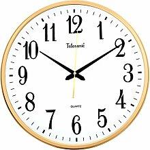 DIDADI Wall Clock Stumme Uhr moderne Wanduhren und kreative Wandtafeln, wenn das Wohnzimmer Wanduhr 435 * 435mm