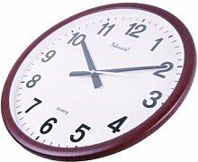 DIDADI Wall Clock Uhr mute Schlafzimmer Wohnzimmer Wanduhr creative stilvolle und einfache Quarzuhr für Uhren
