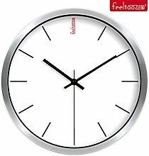 DIDADI Wall Clock Weiß einfache Wohnzimmer Wanduhr - Mute 12 Zoll Uhr Uhren