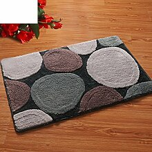 DIDIDD Fashionhaped Eingangstürmatten / Bad Antilip Matten / Fußauflage,B,50X80Cm (20X31Inch)