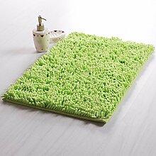 DIDIDD Fußboden-Matte / Toiletten-Tür-absorbierende Auflage- / Badezimmer-Tür-Badezimmer-Antilip-Türmatten für Haushalts-Gebrauch / Fuß-Auflage,E,40X60Cm (16X24Inch)